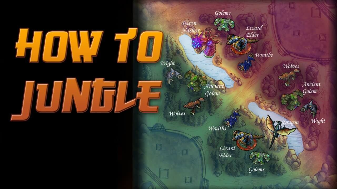 A Beginner's Guide to Becoming an Efficient Jungler in LoL