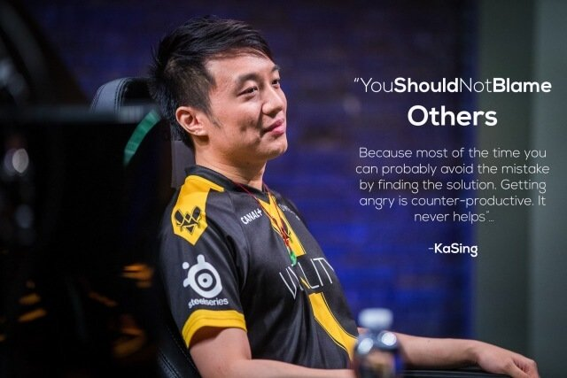 KaSing quote for League of Legends Support