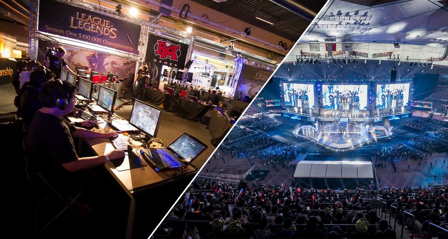 League of Legends World Championship Then and Now