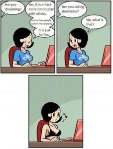 Streaming Girl